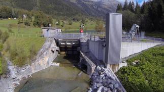 Der Fischlift am Gadmerwasser | 2016