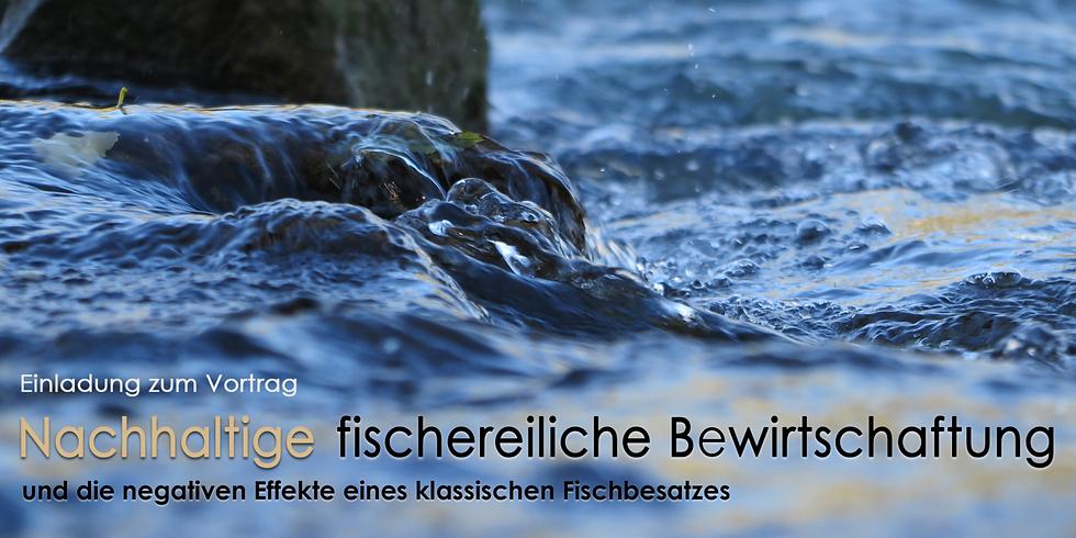 Vortrag zur nachhaltigen Gewässerbewirtschaftung