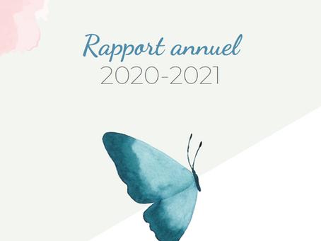 La Fondation de la massothérapie vous présente son rapport d'activités 2020-2021