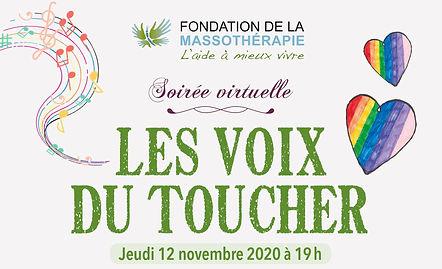 soiree virtuelle fondation de la massotherapie