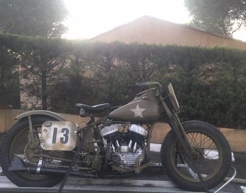 You're in the army now : La Harley de 1943 de David
