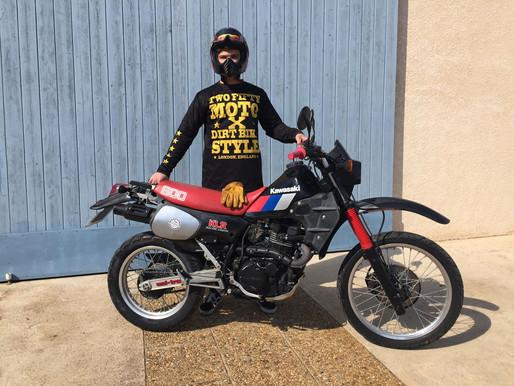 A Family Affair : La Kawasaki KLR 600 de 1986  Romain Monti