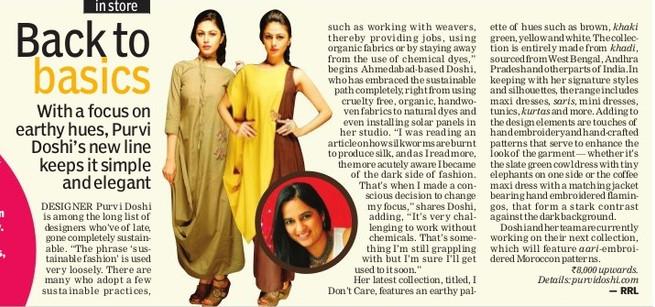 New Indian Express - Indulge - Bangalore