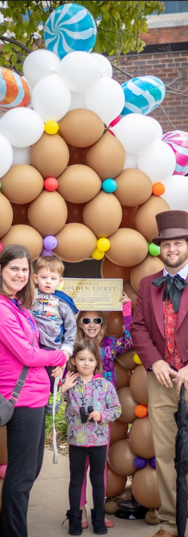 Golden Ticket Photo Op at Kansas Chocolate Festival