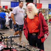 Santa at Cider Days