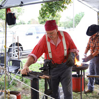 Blacksmith of Cider Days