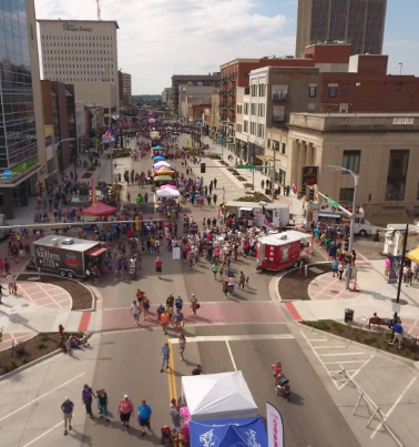 Kansas Chocolate Festival Downtown