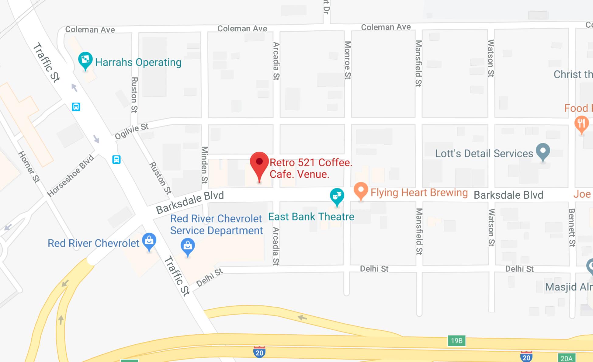 Mug Cake Pickup - Bossier City, LA