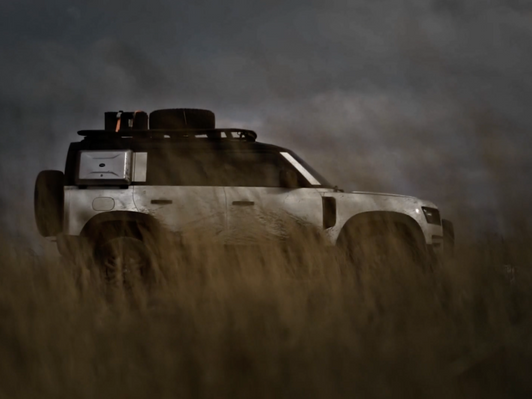 Shots features Land Rover Defender: Father&Son