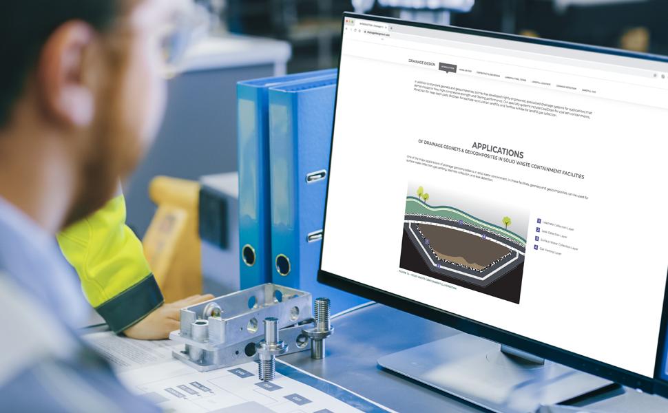 Neues Online Drainage Tool unterstützt Ingenieure bei der spezifischen Auswahl der Materialien und bietet somit Planungssicherheit.
