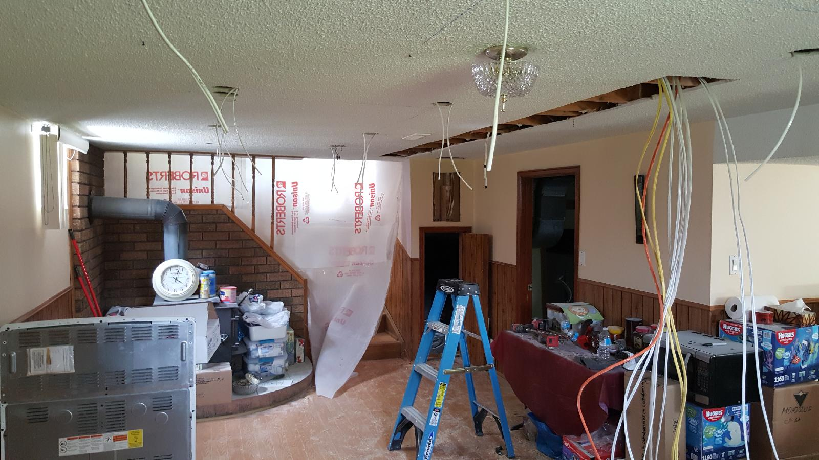 Basement Apartment Rewiring