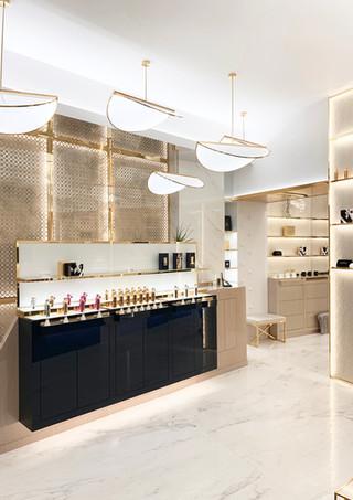 Retail space design (Paris, Dubai, Milan, London...)