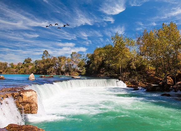 מפל מים בטורקיה