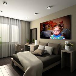 חדר שינה - אליעד יהלום