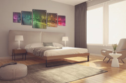 bedroom mockup