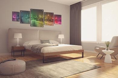 תמונה מרובעת לחדר שינה בגודל 40 על 40