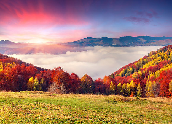 סתיו צבעוני בהרי הקרפטים