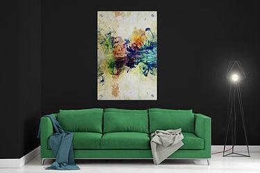 40X60 תמונה אמונותית לסלון  בגודל
