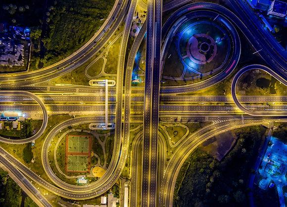 בנגקוק נוף כביש מהיר