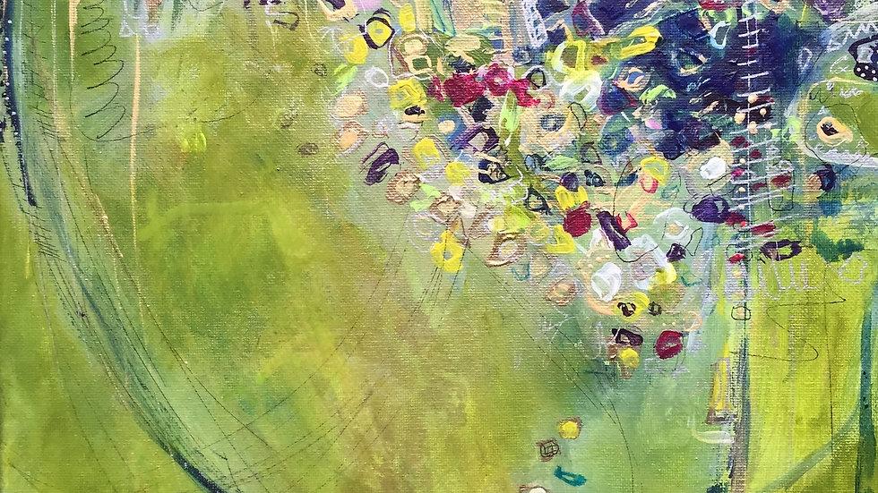 """Gold N Klimt, 12""""x 12"""""""