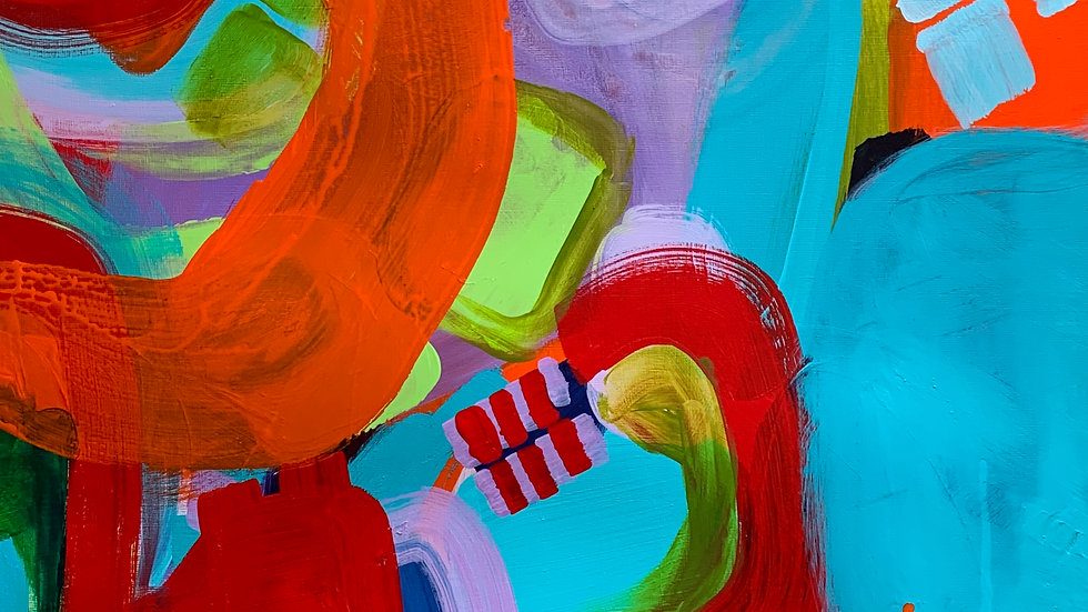 "Colours Of Cali Series ""Out Of The Blue"", 18""x 24"""