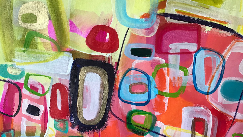 """Just Call Me I'm Always Up For Lunch, 34""""X38"""""""