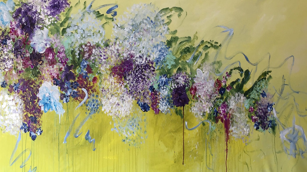 "The Return Of Spring, 72""x36"""