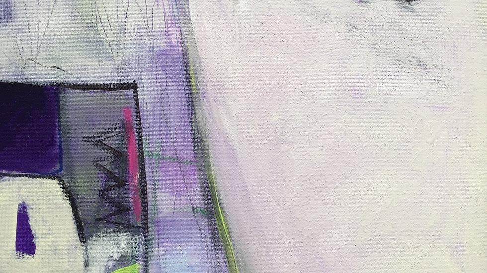 "Road Trip, canvas, 12""x12"""