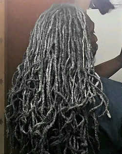 Silver Locs - Absolutely STUNNING!