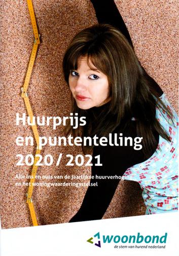 Huurprijs en puntentelling 2020/2021