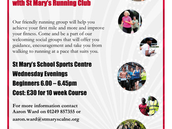 Club Launches new Beginner running group