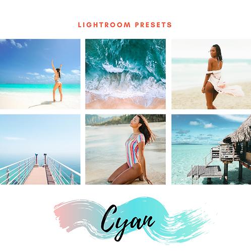 Lightroom Presets - Cyan