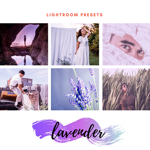Lightroom Presets - Lavender