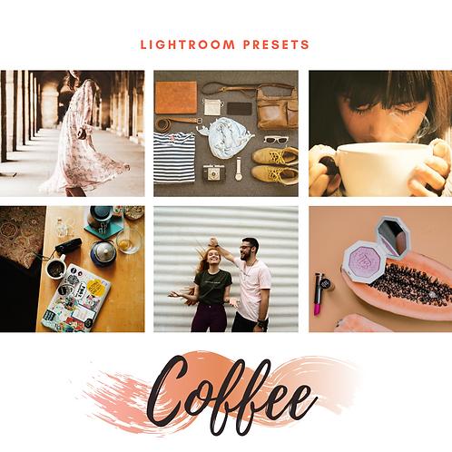 Lightroom Presets - Coffee
