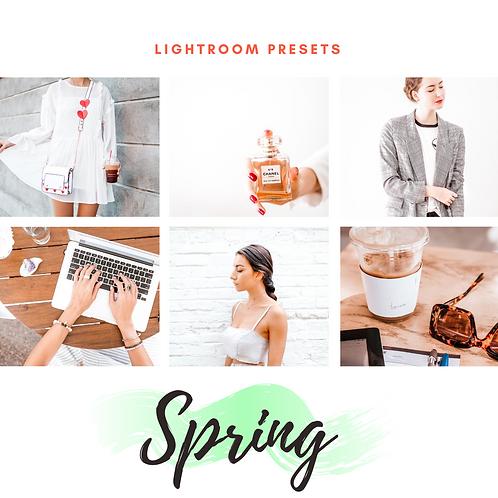 Lightroom Presets - Spring