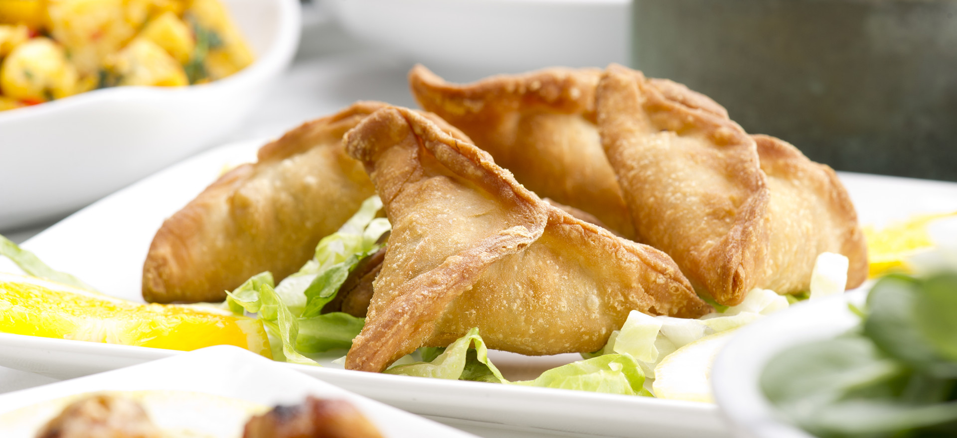 Homemade Samosas