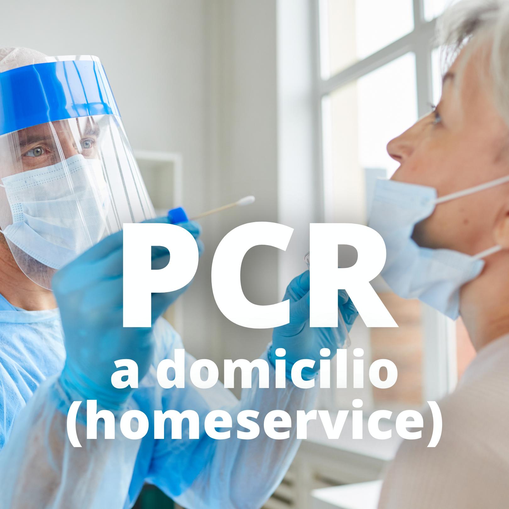 PCR a Domicilio/Hotel (Homeservice)