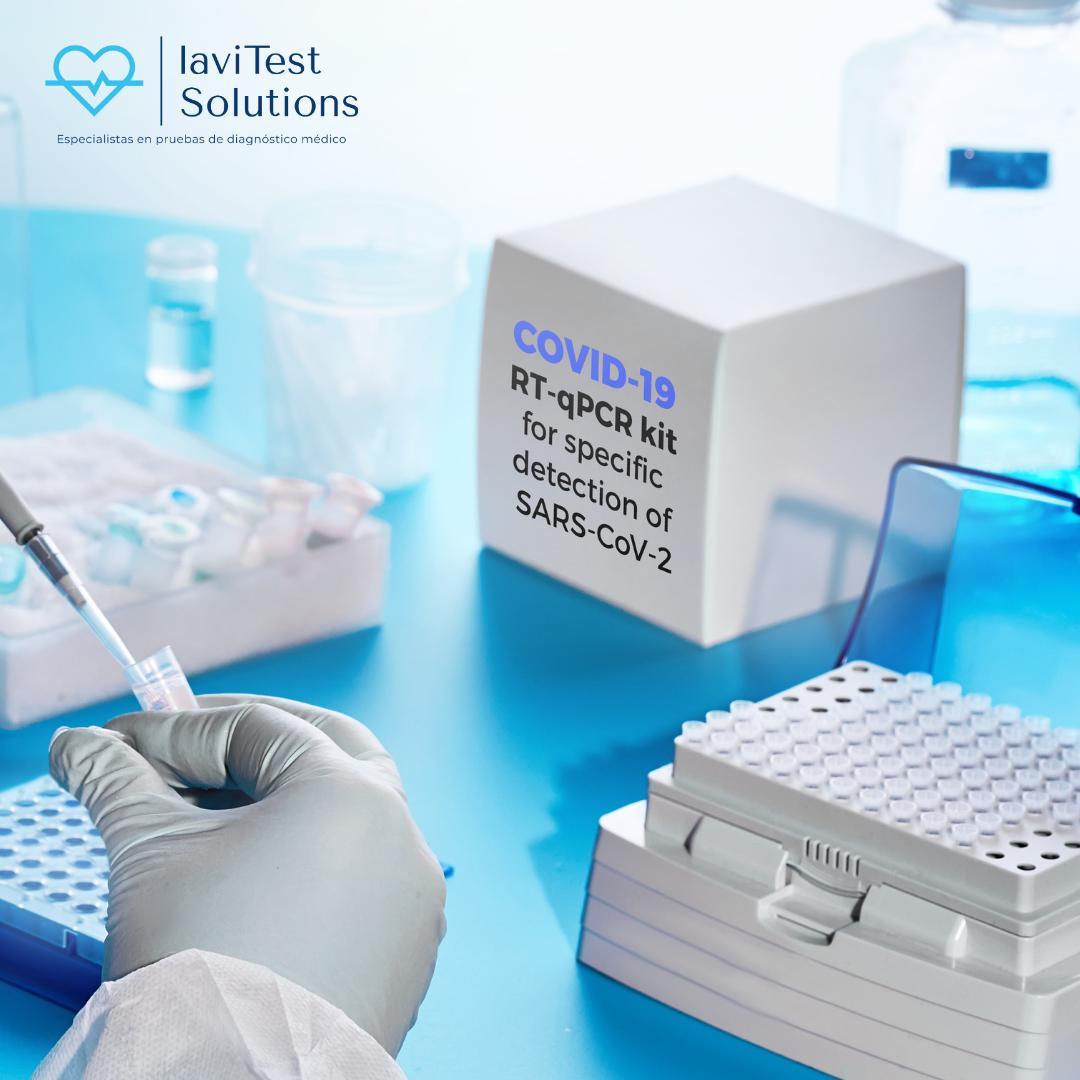 Prueba PCR para viajar o confirmar test