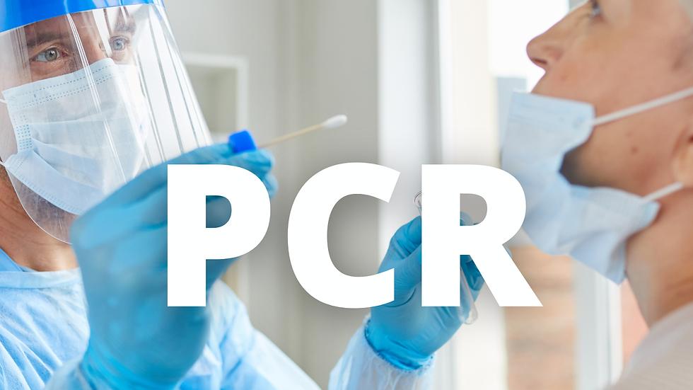 Prueba Covid PCR (Polymerase Chain Reaction)