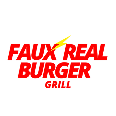 Faux Real Burger Logo