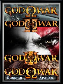 God of War All Logos - Framed. Cool MR.p
