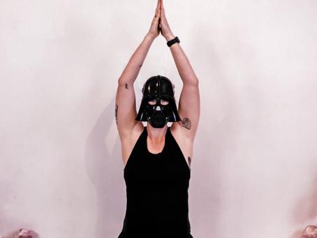 Breathe like Darth Vader