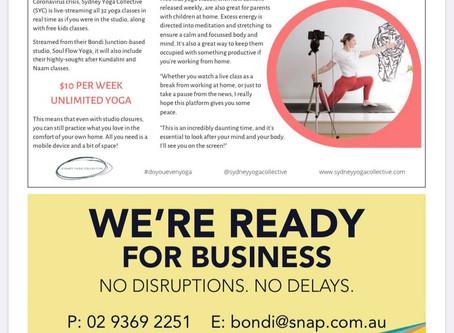 Eastern Suburbs Life X Sydney Yoga Collective