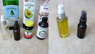 DIY Natural Facial and Body Oils