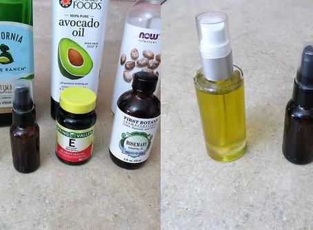 DIY Natural Facial and Body Oils