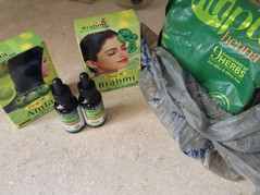 Promotes Thicker Hair With Herbal Powder: Amla, Brahmi, and Godrej Nupur Henna Paste