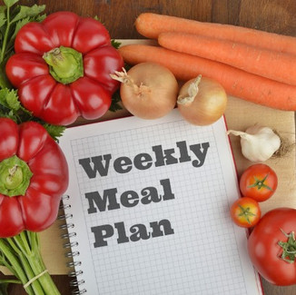 Start Living a Healthy Lifestyle by Planning your Meals For the Week