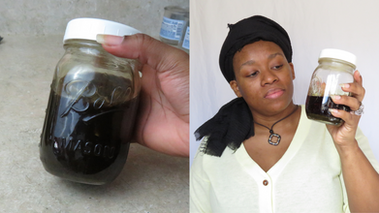 Natural Hair Strengthening Herbs and Hot Oil Treatment