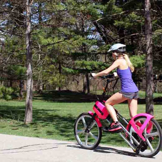 Fun Cardio Exercising with a Bike