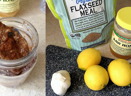 How To Make A Powerful Flax-seed Tonic Elixir